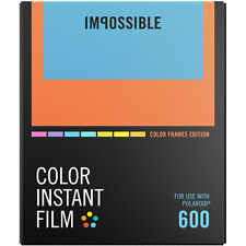 Impossible PRD4522 Color Instant Film with Color Frame for Polaroid 600 (2959)