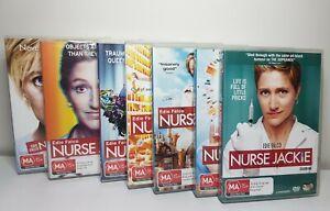Nurse Jackie Complete Series Season 1-7 (DVD Region 4) Edie Falco