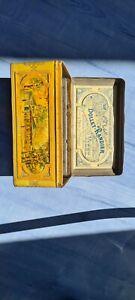 Boite ancienne metal dollet randier vichy célestins hôpital lardy collection