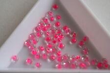 CRISTALLO Rosa foderato TOHO Magatama Perline. 3mm. 150 Perline. #7376
