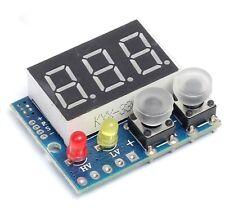 DC 0-99.9V Red LED Panel Digital Voltmeter Applied w/ Alarm Indicator