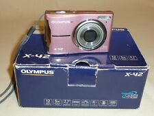 OLYMPUS X-42 12 MP DIGITAL CAMERA IN PINK