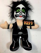 "NWT Kiss Band Eric Singer 15"" Plush Stuffed Figure Doll Toy Factory"