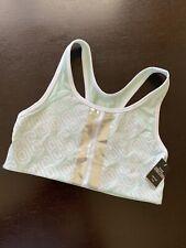 Victorias Secret PINK Ultimate SPORTs Dry Wick Yoga Gym Run Bra Small Mint Green