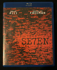 David Fincher's Se7En Seven (1995) Blu-ray Brad Pitt Morgan Freeman Kevin Spacey