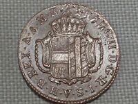 Holy Roman Empire Further Austria 1803 1 Kreuzer Kaiser Franz II Napoleonic Wars