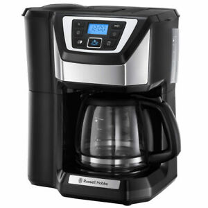 Bean to Cup Grind & Brew Coffee Machine 1 to 4 Cups with 24 Hour Digital Timer