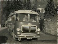 PHOTO ANCIENNE - VINTAGE SNAPSHOT - TRANSPORT AUTOBUS AUTOCAR BUS CAR DRÔME