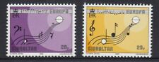GIBRALTAR 1985 EUROPA European MUSIC Year set of 2 - MNH .