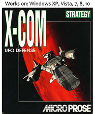 X COM: UFO Defense PC Game Enemy Unknown