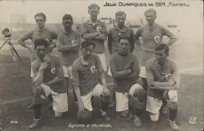 FOOTBALL JUEGOS OLIMPICOS 1924  EQUIPE DE IRLANDE 312 REAL PHOTO