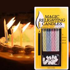 Funny Fake Birthday Candles Not Blowing Out Gag Pranks Trick Fun Novelty Gadgets
