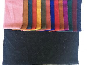 """LUREX METALLIC STRETCH FABRIC BY THE YARD 58""""-60"""" WIDE IN 15 COLORS USA SELLER"""
