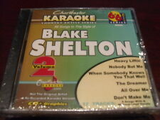 CHARTBUSTER 6+6 KARAOKE DISC 20606 BLAKE SHELTON VOL 2 CD+G COUNTRY MULTIPLEX
