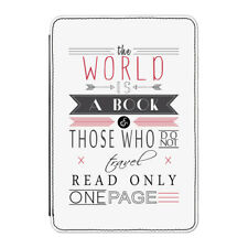The World Is A Book Quote Case Cover for Kindle Paperwhite - Travel Holiday