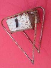porte bagage vélo ancien PEUGEOT avec  boites à outil , Vintage bicycle rack