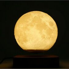 Magnetic Levitation Moon Lamp Night Light Rotating Led Cool Floating 3D