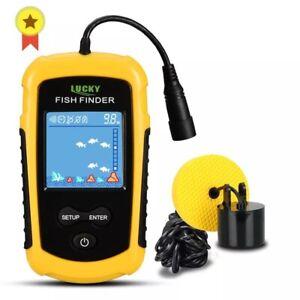 Fish Finder Alarm 100M Portable Sonar Fish Finders Fishing lure Echo Sounder