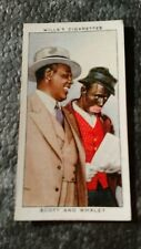 WILLS CIGARETTE CARD RADIO CELEBRITIES 2nd SERIES # 37 SCOTT AND  WHALEY