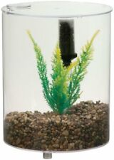 Lee's Round Betta Kit, w Lid, Plant and Undergravel Filter