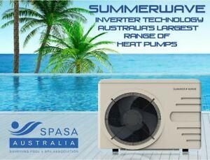 Premium Silent Swimming Pool/Spa INVERTER Heat Pump 16.5kw Heater RRP $5,490