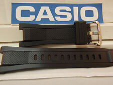 Casio Watch Band GST-210, GST-S100,GST-W110 Black Rubber Strap.G-Shock Watchband