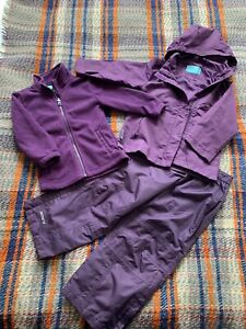 Mountain Warehouse Girls Raincoat And Trousers 3-4 Years