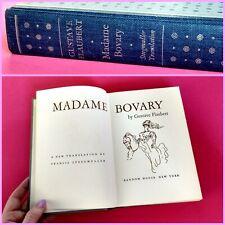Vtg 1957 Madame Bovary Gustave Flaubert Steegmuller Random House Old 50s HC Book