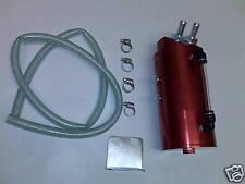 RED ALUMINIUM OIL CATCH TANK 200SX PULSAR GTIR SR20DET