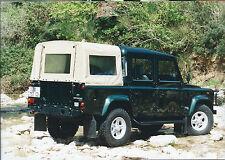 Land Rover Defender 110 Crew Cab Original Italian Press Photograph