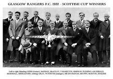 Glasgow Rangers F.C. 1932 - Scottish Cup Winners