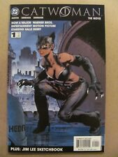 Catwoman The Movie #1 DC 2004 One Shot Halle Berry Jim Lee Sketchbook 9.6 NM+
