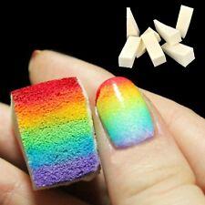 16Pcs Stamp Stamping Polish Template Transfer Nail Art Sponge Manicure Tool