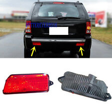 Rear Bumper Reflector Fog Light Cover Fit Jeep Grand Cherokee 2005-2009 06 07 08