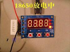 18650 li-ion lithium lead-acid Battery Capacity Meter discharge Tester 1.5v~12v