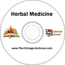 Herbal Medicine Vintage Book Collection on CD - Medicinal Herbs, Herbal, Herbs