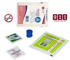 IV Start Kit Pack Tegaderm Dressing PVP - Alcohol Preps Gauze Tourniquet 4 Pack