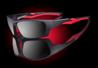 Elvex Avion Slim Fit Kids//Girls//Shooting Safety Glasses WELSG-18A-SLIM LEO