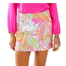 NWT LILLY PULITZER 6 MARIGOLD SKORT SCUBA TO CUBA SOLD OUT RARE