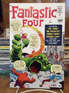 "FACSIMILE FANTASTIC FOUR #1 ""NEW"" SUPER KEY 1ST APP & ORIGIN FF (& MOLE MAN)"