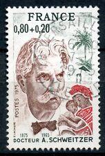 STAMP / TIMBRE FRANCE OBLITERE N° 1824 DOCTEUR SCHWEITZER