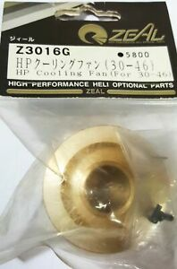 Kyosho ZEAL Z3016G HP Cooling Fan for 30-46 High Performance Heli Optional Parts