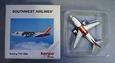 HERPA 1/500 DIECAST MODEL BOEING 737-300 SOUTHWEST AIRLINES HER500524