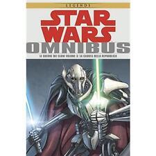 STAR WARS OMNIBUS - LE GUERRE DEI CLONI 3 (DI 3) - PANINI COMICS - NUOVO