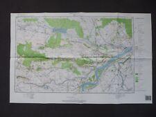 Landkarte Polen Meßtischblatt 154.43 Polaniec, Woiwodschaft Tarnobrzeskie, 1997