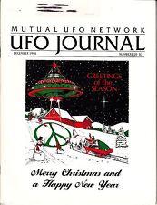 MUFON UFO Journal December 1994 #320 Zimbabwe Western Canada Paranormal