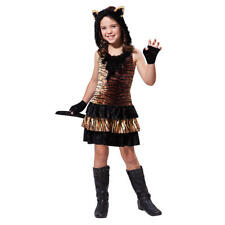 Totally Ghoul Tiger Girl Girls' Child Halloween Costume Small