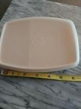 Tupperware Small Divided Container like #813 EUC lunchbox dish
