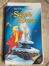 Disney The Sword and the Stone VHS Black Diamond Classics Edition LIKE NEW