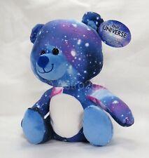 BLUE BEAR-Fiesta Plush Stuffed Animal Universe Galaxy Space Stars Astronomy NEW!